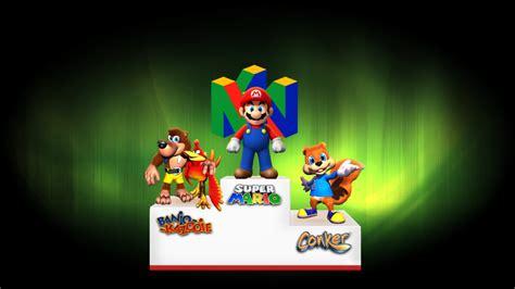 Nintendo 64 Wallpaper Wallpapersafari