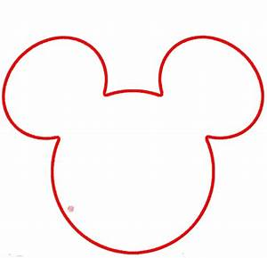 Printable hand template clipartsco for Free mickey mouse hand template