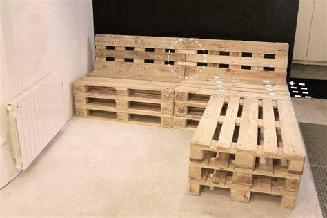 plan canapé bois étourdissant plan fauteuil en palette de bois collection