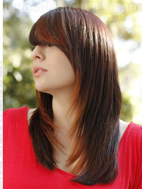 35+ Long Haircuts With Side Swept Bangs And Layers Great