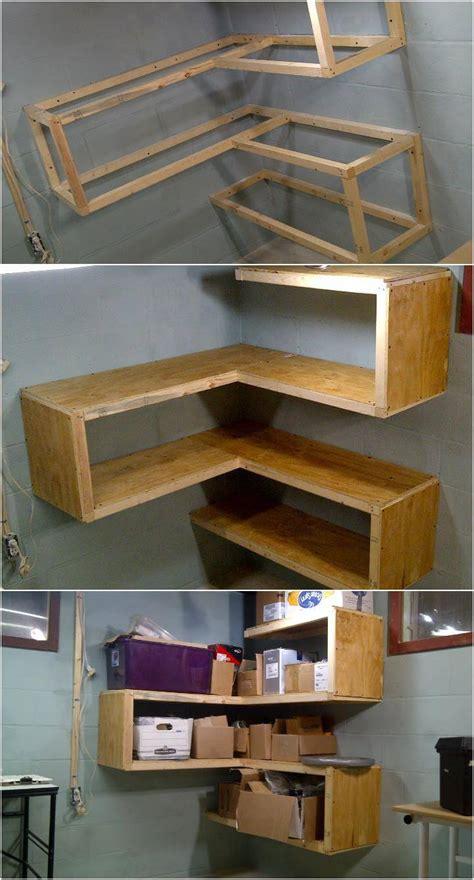 wood corner shelves 50 diy shelves build your own shelves diy crafts Diy