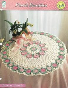 New Posies On Parade 20 U0026quot  Collectible Doily Series Crochet