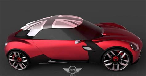 Mini Concept Cars by Mini Boost Concept Looks Like A Cooper Roadster On