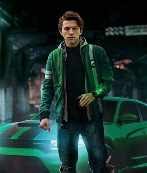 tom holland ben  jacket ben  alien force ben
