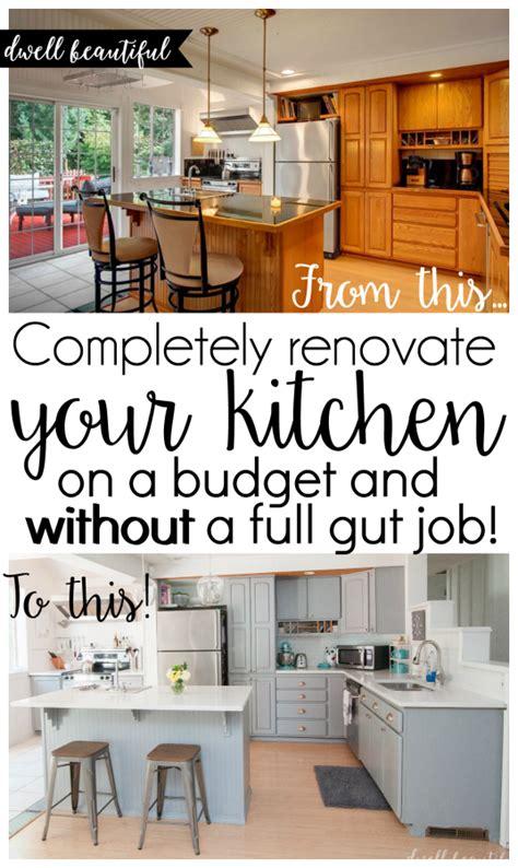 Diy Budget Kitchen Renovation  Our Gorgeous Kitchen