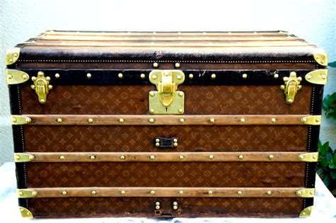 The middle one is their main one, and the first i ever got. Antique Louis Vuitton Steamer Trunk Coffee Table 1904 at ...
