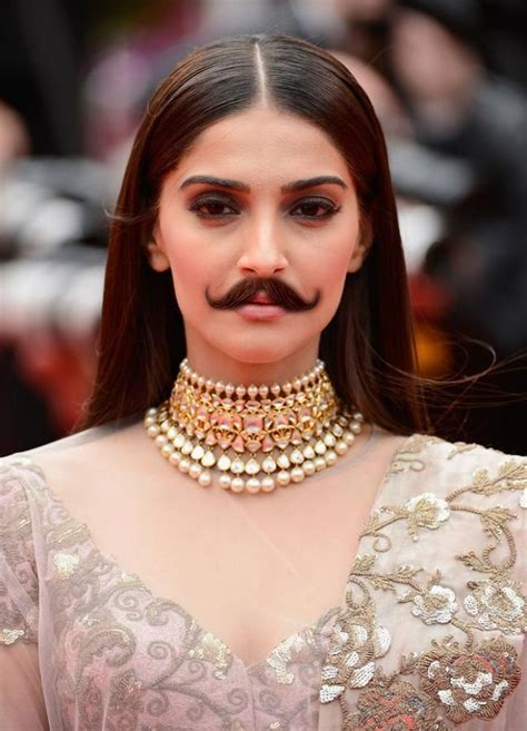 Deepika, Alia, Kareena with moustaches! Who wears it best ...