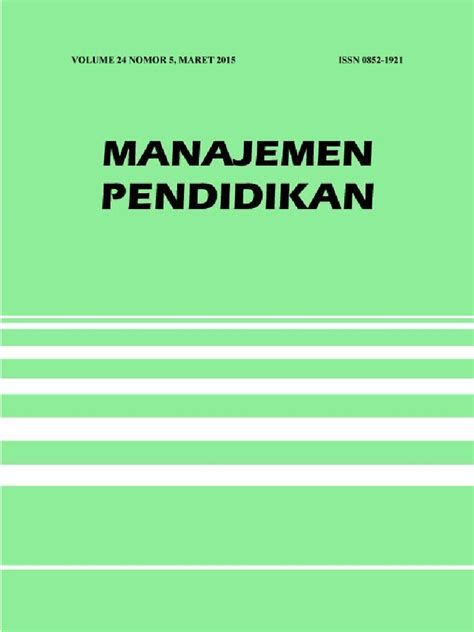 Jurnal manajemen pelayanan kesehatan, vol. Jurnal Ilmiah Manajemen Kelas.pdf