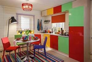 petite cuisine creative aux influences modernes With deco petite cuisine appartement