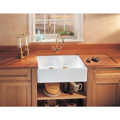 double bowl apron front sink fireclay apron front undermount or drop on double bowl
