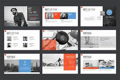 Powerpoint Template Templates Creative Marketing Business Agency