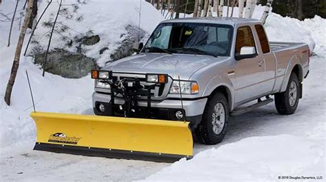 light duty truck plow fisher homesteader snow plow