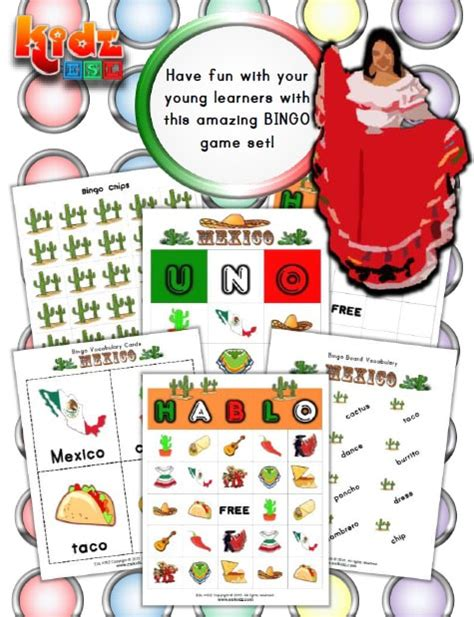 mexico worksheets activities games  worksheets  kids