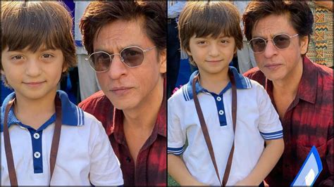 Abram is a carbon copy of srk, and the many times we saw them together, we. Proud dad Shah Rukh Khan attends little 'Gold Medal' AbRam Khan's Sports Day; check out photos ...