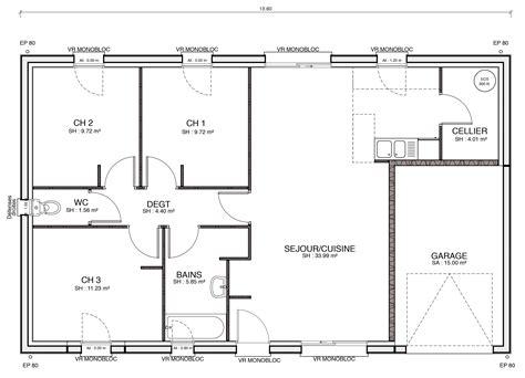 plan de cuisine moderne cuisine enchanteur plan des maisons plan des maisons