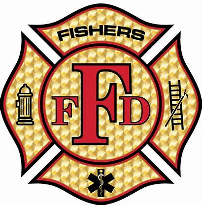 Fire Fishers Department Emergency Clipart Indiana Personnel