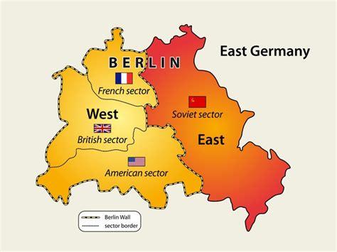 carta da parati mappa del muro  berlino