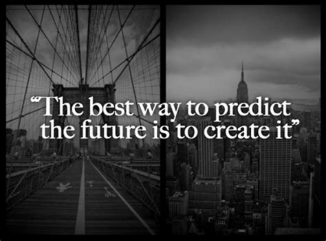 "Abraham Lincoln  ""the Best Way To Predict Your Future Is 9buz"