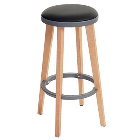 tabouret chaise de bar 2x tabouret de bar douglas chaise de bar comptoir bois