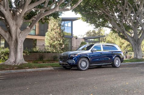 Not seen one of these out on the roads before. Mercedes-Maybach GLS 600 4Matic 2020 review | Autocar