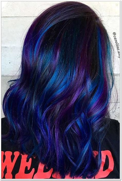 Hair With Blue by 115 Extraordinary Blue And Purple Hair To Inspire You
