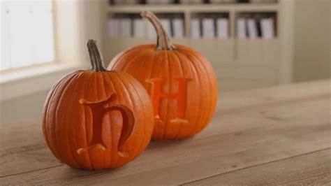 pumpkin carving tips   carve initials