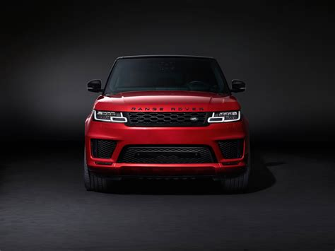 red land rover range rover hd wallpaper wallpaper flare