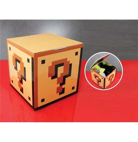 question block l mario bros storage tin question block for only 163 16