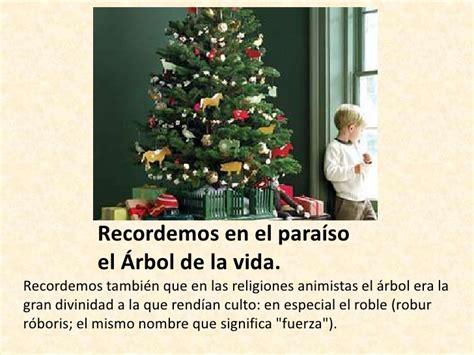 que signica el arbol de navidad los simbolos de la navidad