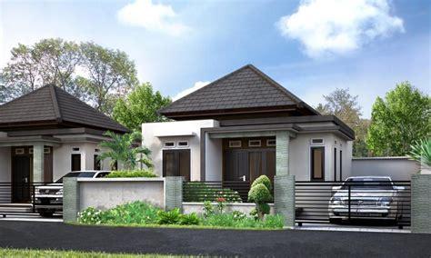 properti desain rumah minimalis mewah  modern