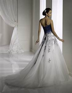 womens hairstyles romantic floral embroidery blue and With midnight blue wedding dress