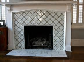 Moroccan Tile Fireplace Surround