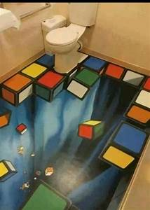 Rubix Cube Floor Home Decor In 2019 Art Floor Art