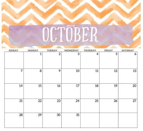 printable october  calendar planner calendar
