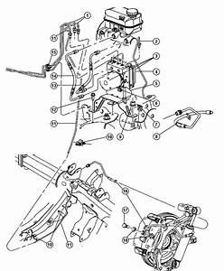 2009 Chrysler Aspen Electronic Brake Control Diagram