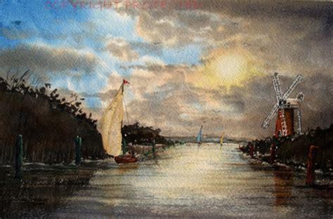 Small Boats For Sale Norfolk Broads by Steve Gardner Norfolk Broads Sailing Boats Artists