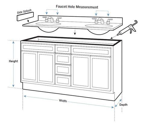 What Is The Standard Height Of A Bathroom Standard Bathroom Vanity Height