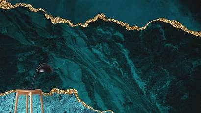 Marble Teal Gold Hdwallpapers Wallpapers