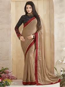 designer news brown color embroider designer new design for saree blouse