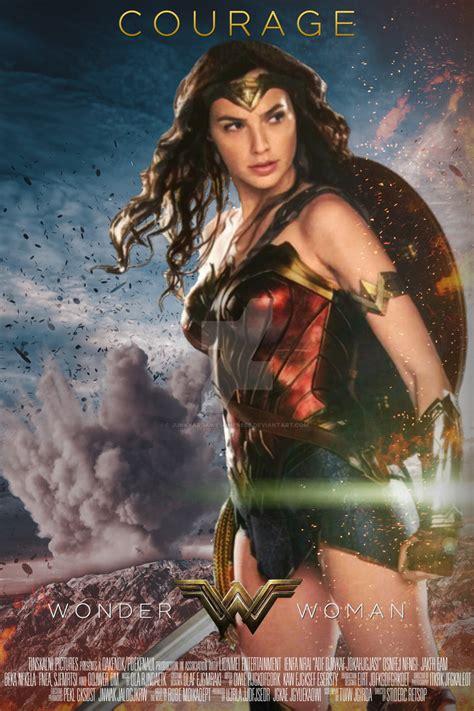 2017 Wonder Woman Poster Hd By Junkyardawesomeness On