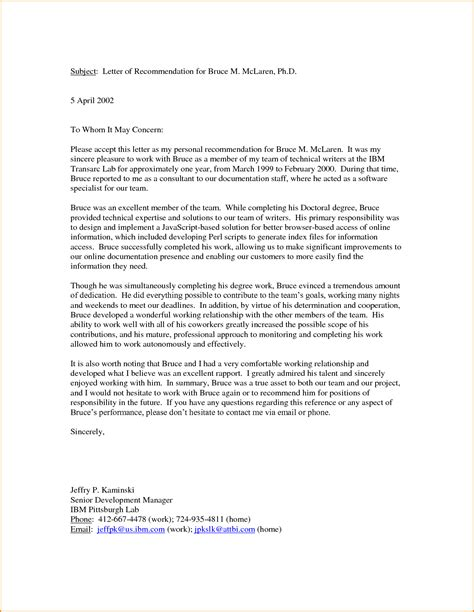 11 good letter of recommendation exle invoice