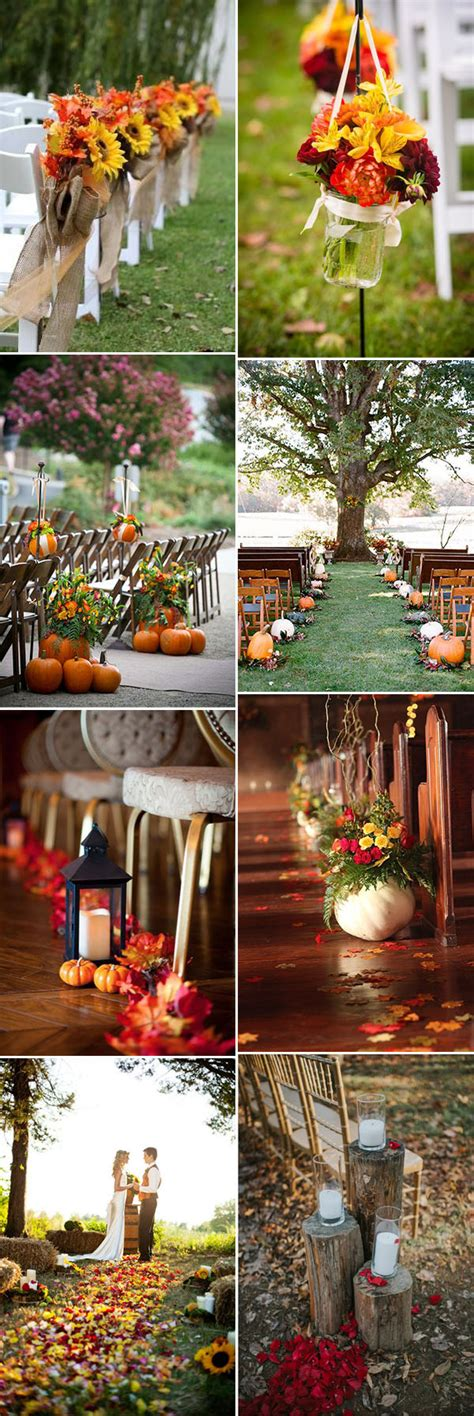 50 + Genius Fall Wedding Ideas You'll Love to Try