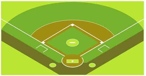 baseball template baseball solution conceptdraw