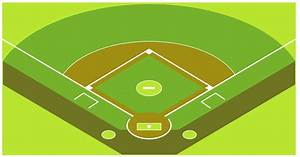 Baseball Diagram  U2013 Baseball Field  U2013 Corner View  U2013 Template