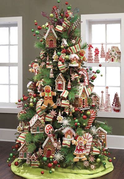 candy themed christmas tree ideas holidays  happier