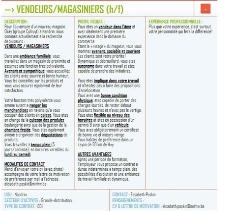 offre d emploi cadre maroc modele cv abrege cv anonyme