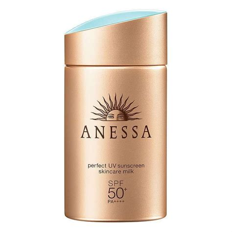 Perfect for when i have time on a shopping day. Anessa Perfect UV Sunscreen Skincare Milk 60 ML