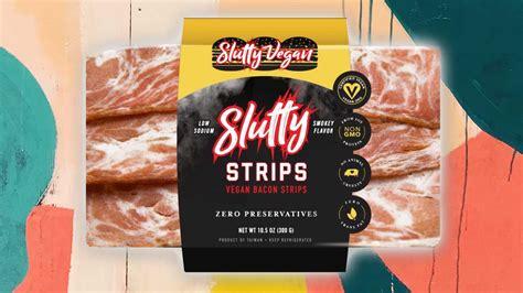 slutty vegan bacon launching  supermarkets livekindly