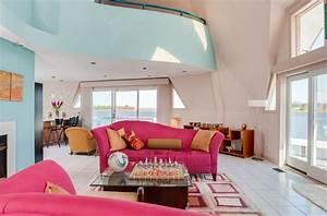 Pink Sofa Living Room Designs