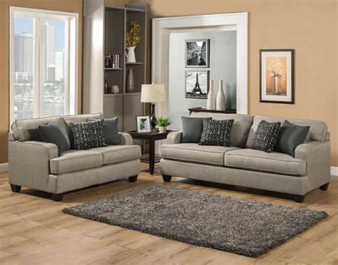 Fabric Loveseats by Beautiful Modern Comfortable Grey Gray Fabric Sofa